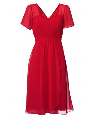 Sarkana stilīga kleita ASHLEY BROOKE