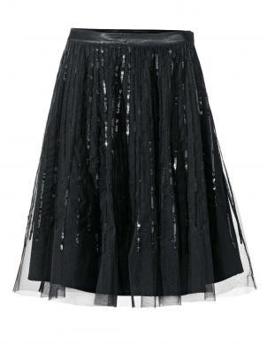 ASHLEY BROOKE melnas krāsas stilīgi sieviešu svārki