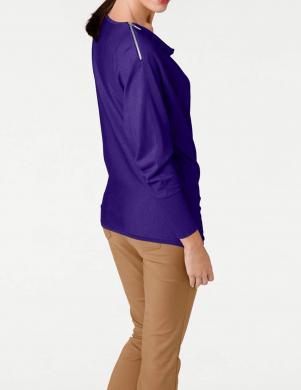 Violets džemperis ar vaļīgu apkakli ASHLEY BROOKE