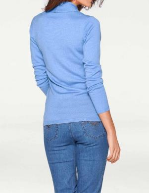 Zils vilnas džemperis PATRIZIA DINI
