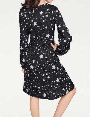 Melna kleita ar zvaigznītēm RICK CARDONA