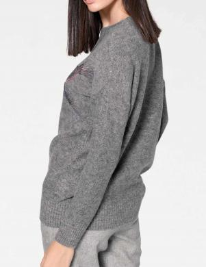 Pelēks mīksts džemperis RICK CARDONA