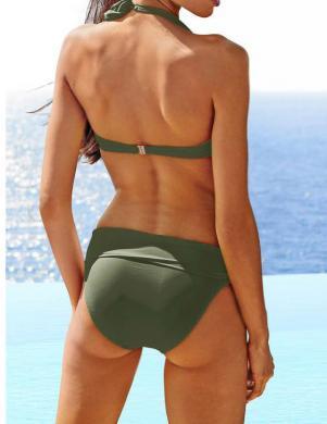 HEINE haki krāsas sieviešu divu daļu peldkostīms
