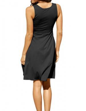 RICK CARDONA stilīga melna kleita