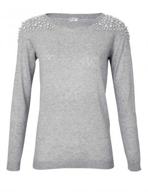 Pelēks sieviešu džemperis RICK CARDONA