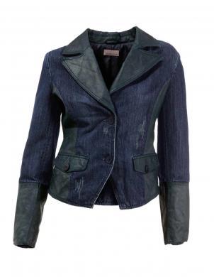 MANDARIN džinsa sieviešu zilas krāsas jaka