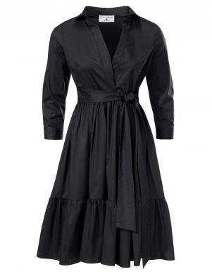 Melna stilīga kleita RICK CARDONA