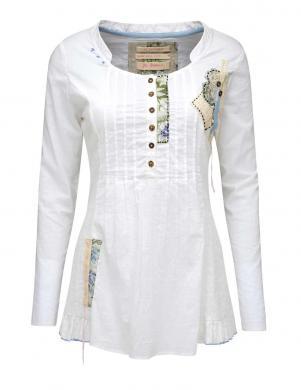 JOE BROWNS sieviešu baltas krāsas kokvilnas blūze