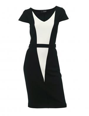 CLASS INTERNATIONAL melnas/baltas krāsas skaista sieviešu kleita