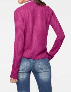 Aiztaisāma ciklamena krāsas džemperis RICK CARDONA