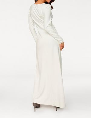Balta gara kleita ASHLEY BROOKE