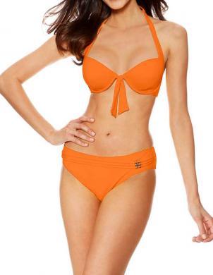 BORABORA oranžas krāsas sieviešu divu daļu peldkostīms