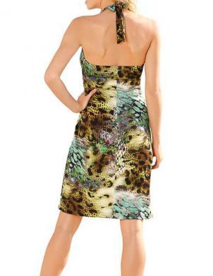 RICK CARDONA krāsaina sieviešu kleita