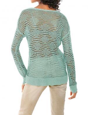 Viegls piparmētru krāsas džemperis LINEA TESINI