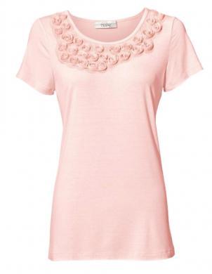 Rozā stilīgs krekls LINEA TESINI