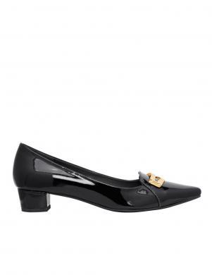 Sieviešu melni klasiski eleganti apavi HEINE