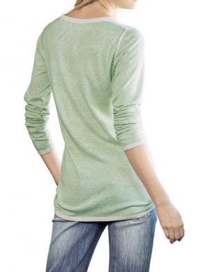 HEINE - BEST CONNECTIONS piparmētru krāsas sieviešu krekls