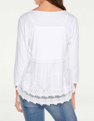 Balta stilīga jaka LINEA TESINI