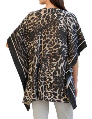 Leoparda raksta sieviešu blūze ALBA MODA