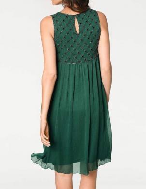 Tumši zaļa sieviešu kleita ASHLEY BROOKE