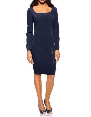 S. MADAN tumši zilas krāsas skaista sieviešu kleita
