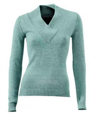 Zaļš viskozes džemperis HEINE