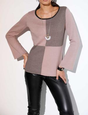 Rozā elegants džemperis CREATION L