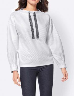 Komforts balts džemperis CREATION L