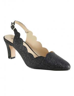 Eleganti spīdīgi melni sieviešu apavi HEINE