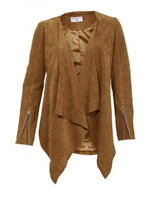 RICK CARDONA brūnas krāsas stilīga sieviešu jaka