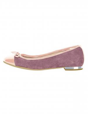 Sieviešu rozā ādas apavi HEINE