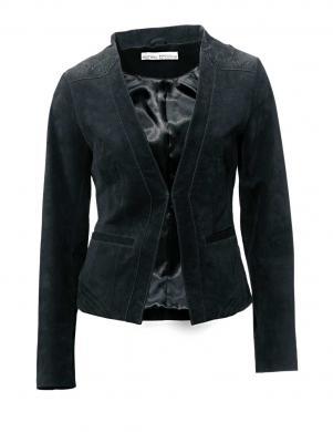 ASHLEY BROOKE melnas krāsas stilīga sieviešu jaka
