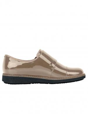 HEINE krēmīgas krāsas stilīgi sieviešu ādas apavi