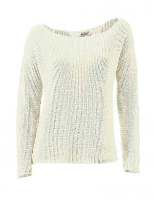 LINEA TESINI skaists krēmīgas krāsas sieviešu džemperis