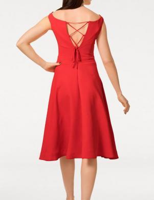 Sarkana kokteiļu kleita ASHLEY BROOKE