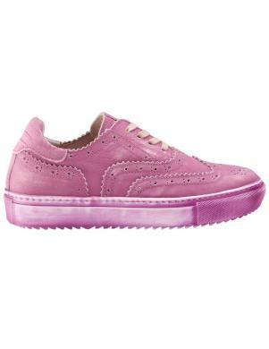 Sieviešu rozā nubuka ādas brīva laika apavi ANDREA CONTI