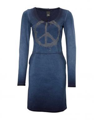 HEINE - BEST CONNECTIONS skaista zilas krāsas sieviešu kleita
