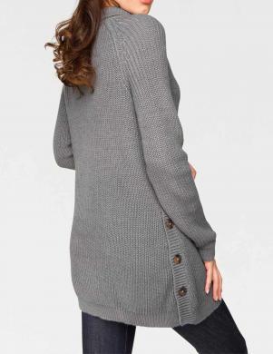 Pelēks garš džemperis ar augstu apkakli HEINE - BEST CONNECTIONS