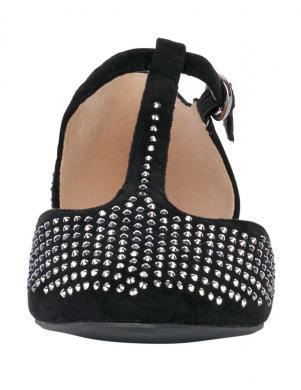 Melni sieviešu apavi ar spīdumiem PATRIZIA DINI