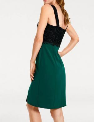 Zaļa kokteiļu kleita ASHLEY BROOKE