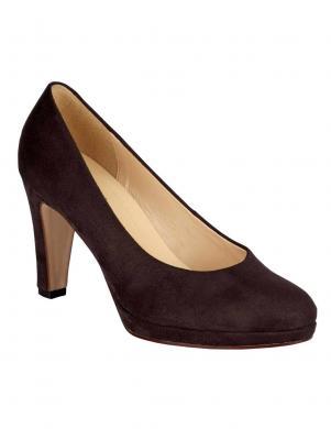 GABOR tumši brūni sieviešu augstpapēžu apavi