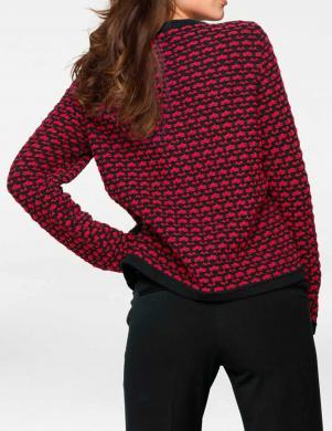 Krāsains džemperis ar rāvējslēdzēju PATRIZIA DINI