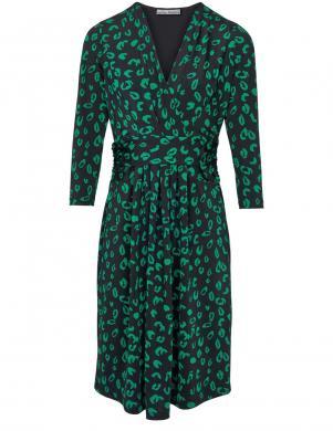 Melna/ zaļa kleita ASHLEY BROOKE