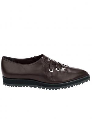 HEINE ādas stilīgi brūnas krāsas sieviešu apavi