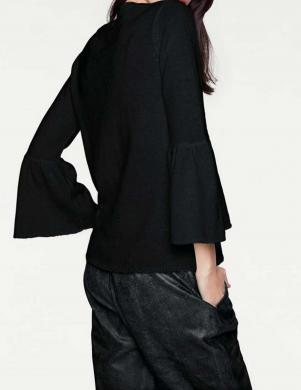Melns džemperis ar plašām piedurknēm HEINE