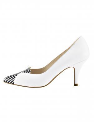Sieviešu balti ādas augstpapēžu apavi HEINE