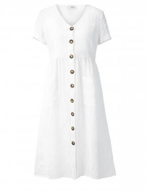 Balta lina kleita HEINE