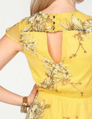 Dzeltena stilīga kleita VERO MODA