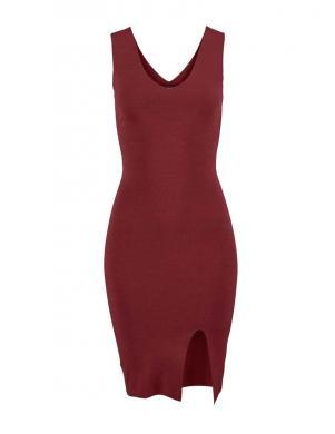 MELROSE seksuāla sarkanas krāsas sieviešu kleita