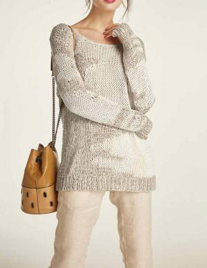 Smilšu krāsas džemperis HEINE